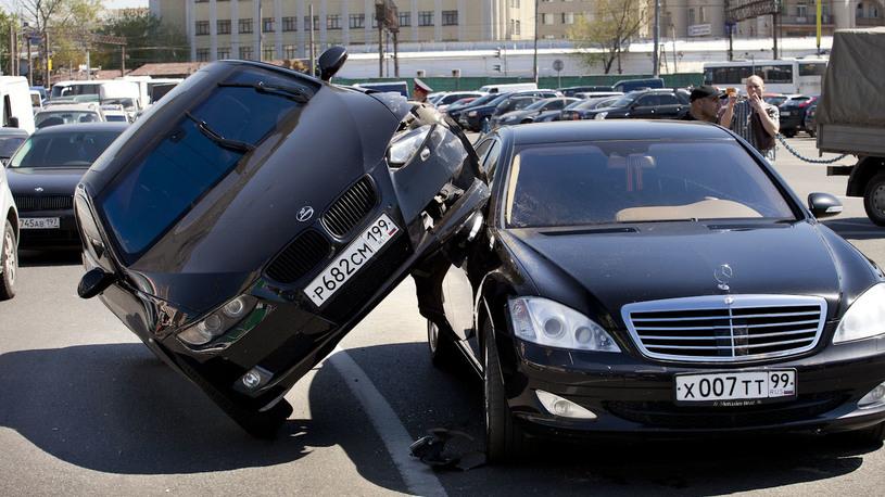 В России растет количество ДТП и злостных нарушителей