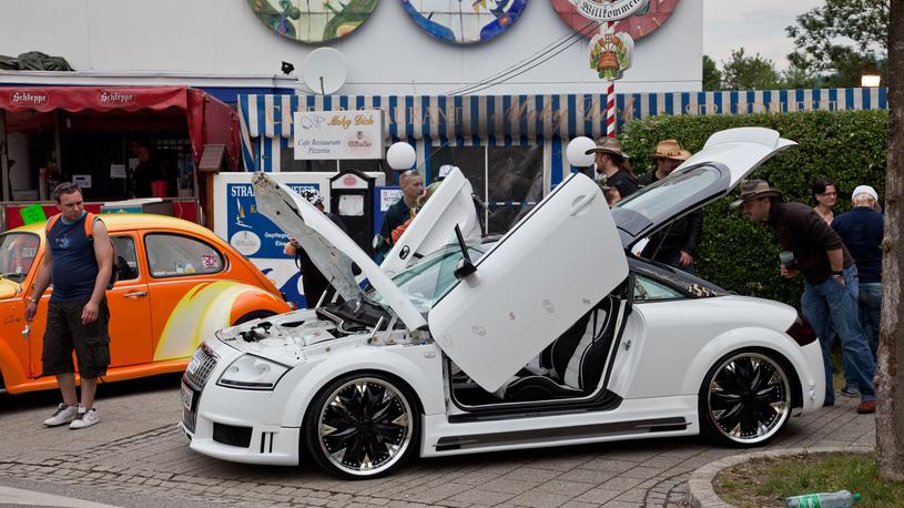 Упрощение легализации тюнинга: у автовладельцев появилась надежда