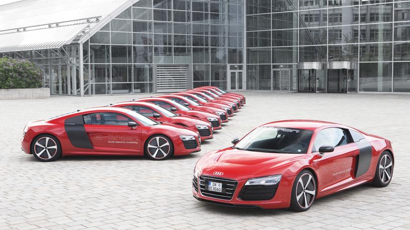 Audi упорствует в своем желании сделать электрическую R8 серийной
