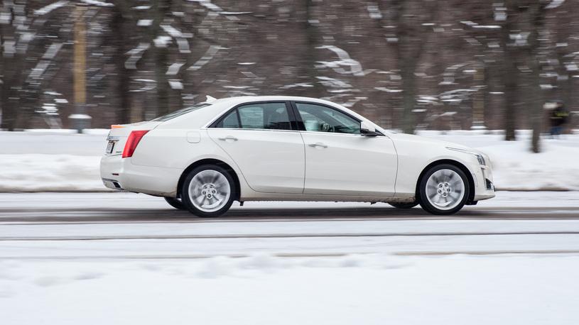 Тест-драйв Cadillac CTS: с надеждой на завтра