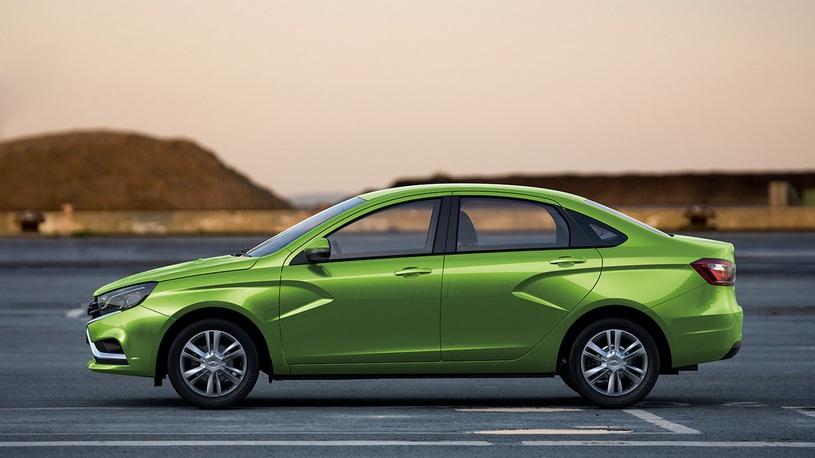 В России выросли продажи автомобилей Lada