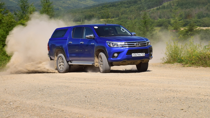 Тест Toyota Hilux и Land Cruiser Prado: отвечаем на вопросы