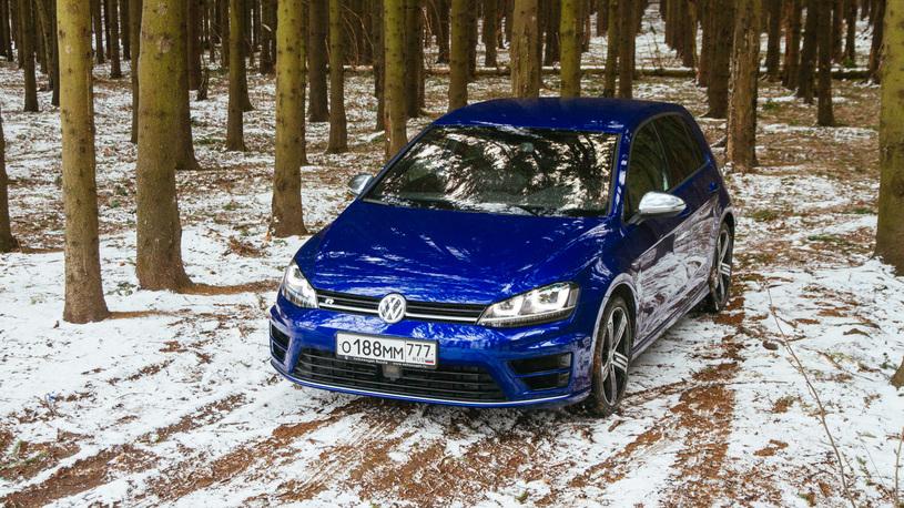 Тест-драйв горячих версий Volkswagen Golf: помни предков и тряси протезом