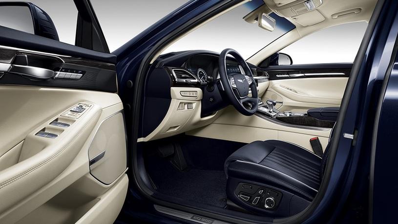 Корейский премиум-седан Genesis G90: известны российские комплектации