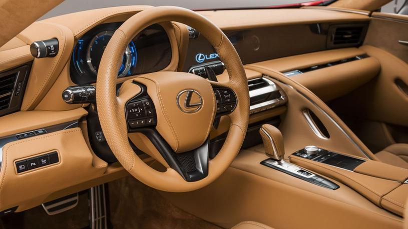 Стали известны детали осверхмощном спорт-купе Лексус LC500