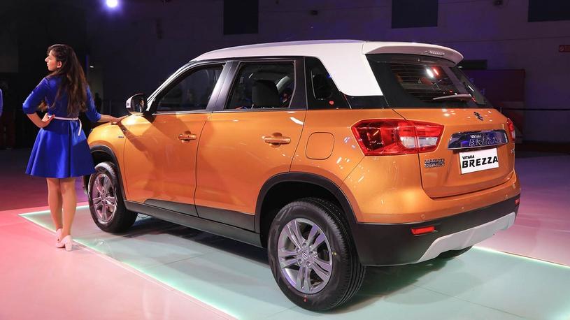 """Suzuki показала в Индии """"гламурный"""" кроссовер"""
