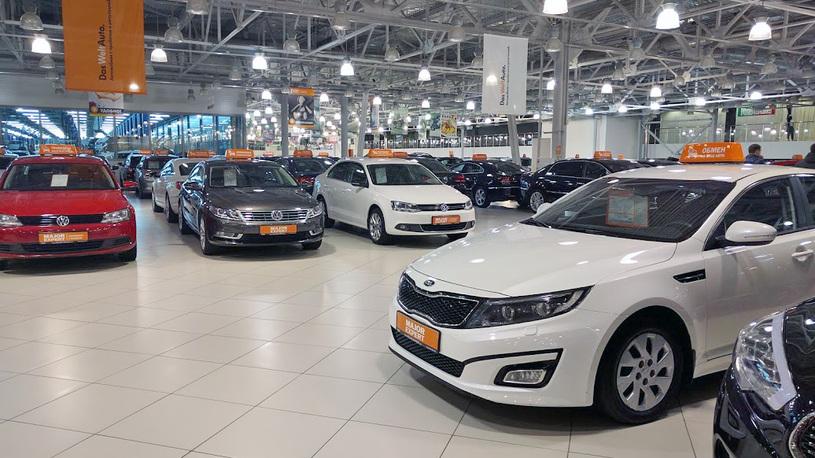 Рынок подержанных автомобилей в июле просел на 1%
