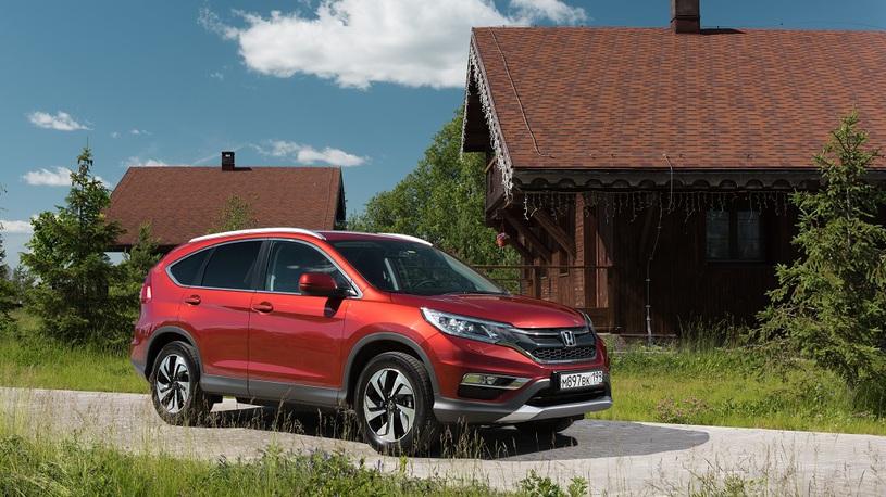 В США начали выпускать новый Honda CR-V для России