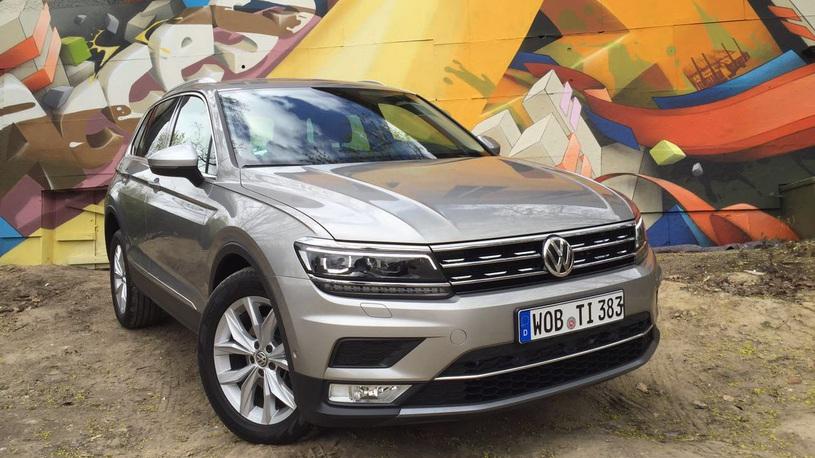 Новый VW Tiguan прибудет в Российскую Федерацию впервом квартале 2017 года