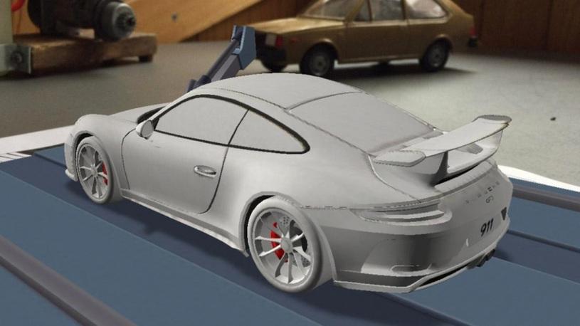 Рассекречен дизайн обновленного Porshce 911 GT3