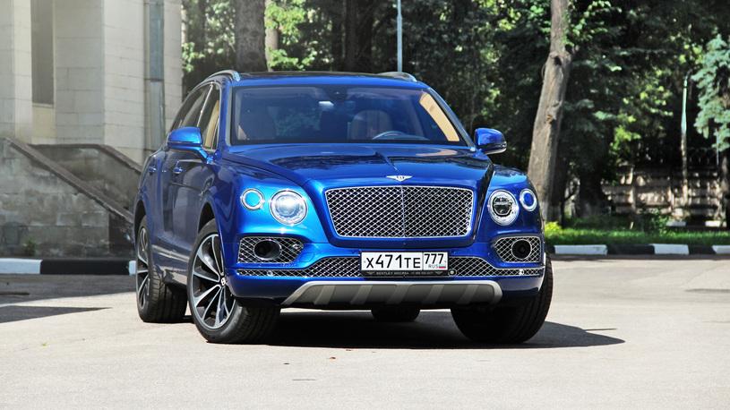 Роскошный кроссовер Bentley получил 7-местную версию и бриллианты