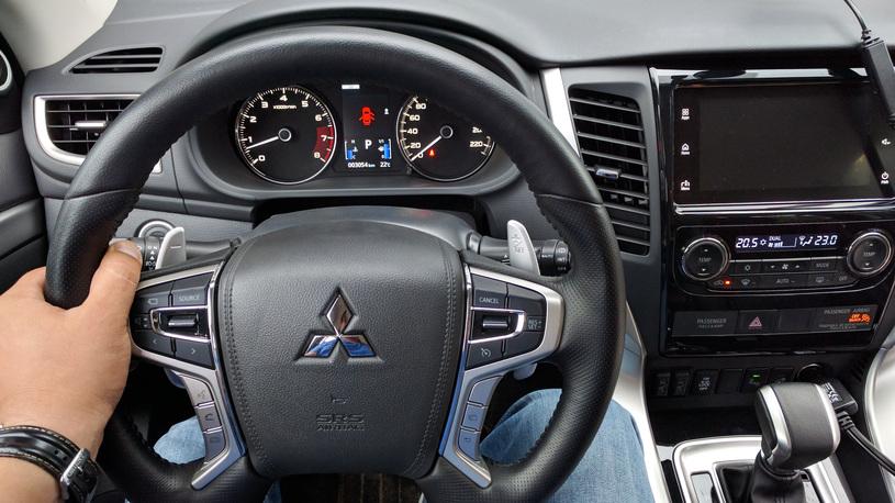 Тест-драйв нового Mitsubishi Pajero Sport: первые впечатления