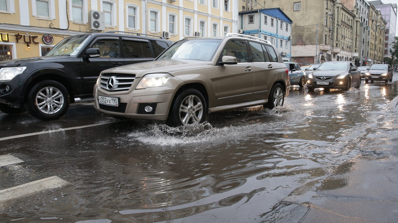 В Москве вновь ожидается непогода и сильный ветер