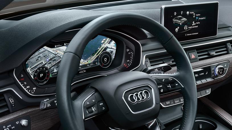 Посчитали-прослезились: цифровая приборная панель Audi A4