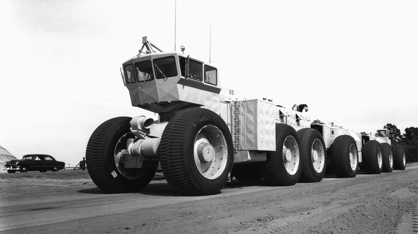 Хит-парад. Рекордные грузовики