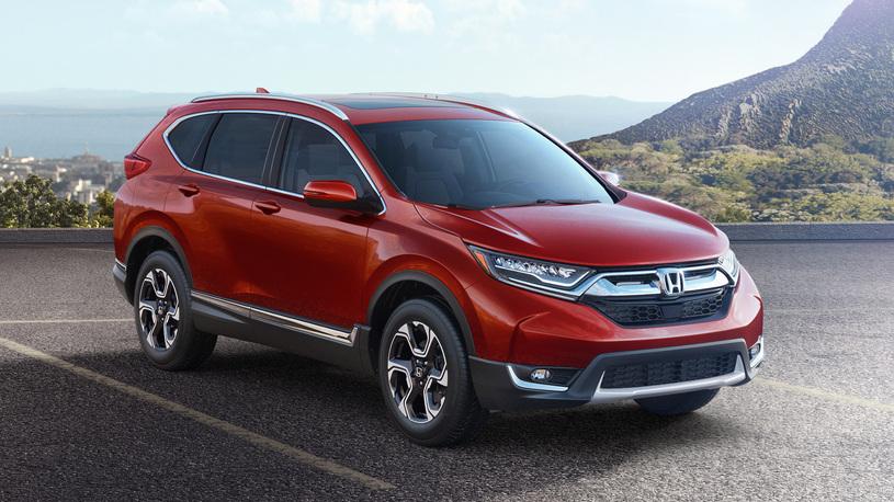 В Россию приехал новый Honda CR-V