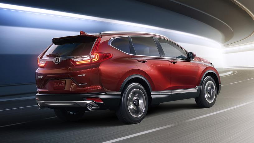 Хонда  CR-V стал больше ироскошнее