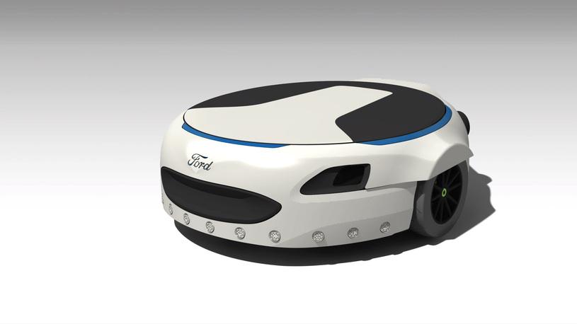 Форд разработал электрическую платформу для перемещения