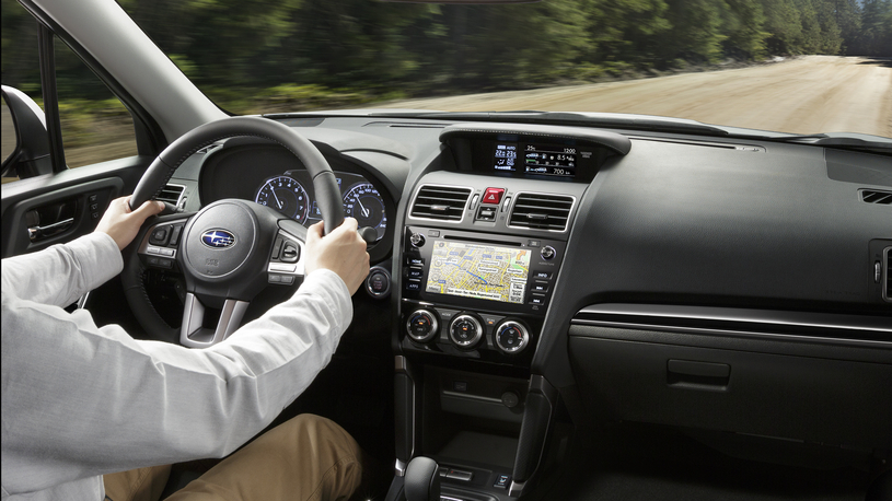 Посчитали-прослезились: навигационные карты для Subaru Forester