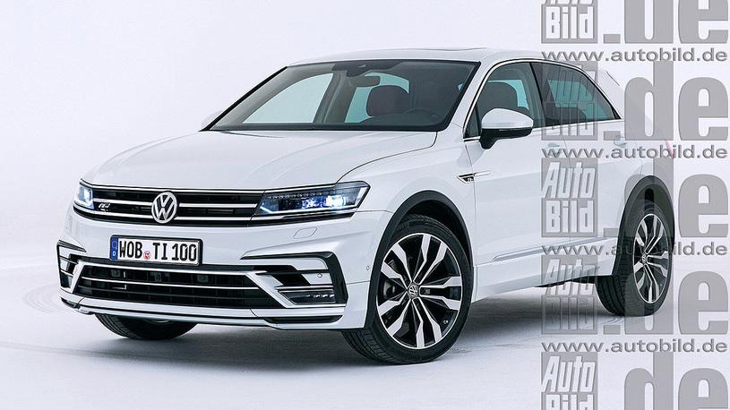 Volkswagen сконструирует кросс-купе набазе Tiguan