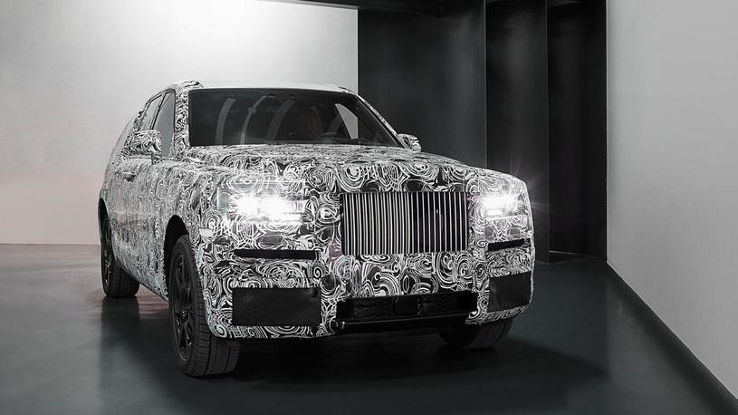 Внедорожник Rolls-Royce ввернулся в повестку дня