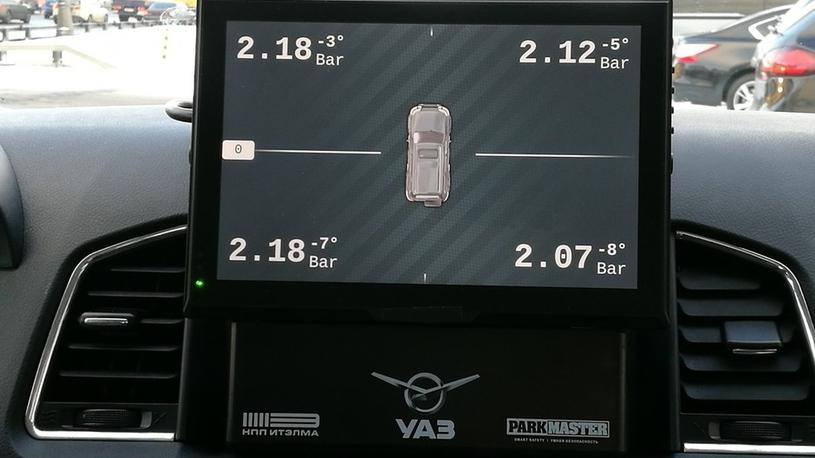 УАЗ показал 1-ый прототип Патриот стелематическим комплексом