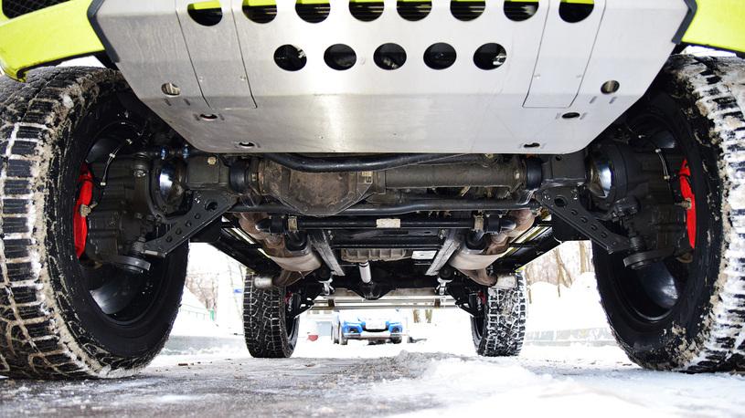 Посчитали-прослезились: мосты с портальными редукторами для Mercedes G 500 4x4²