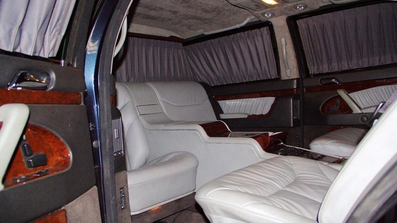 «Лимузин Путина» Мерседес-Бенс S600 Pullman выставили на реализацию