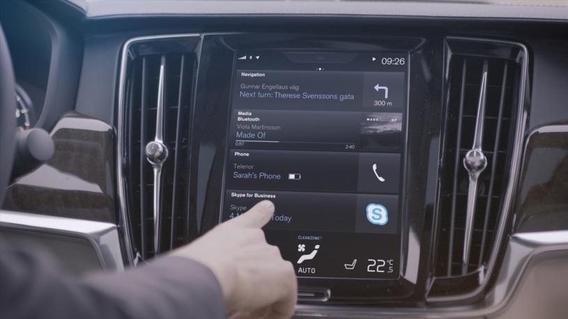 Volvo переведет свои машины на Android