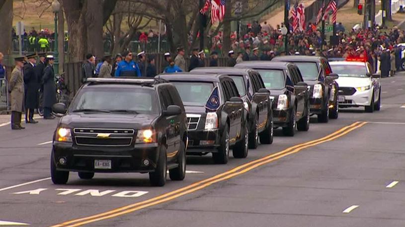 Дональд Трамп вынужден ездить на подержанном лимузине