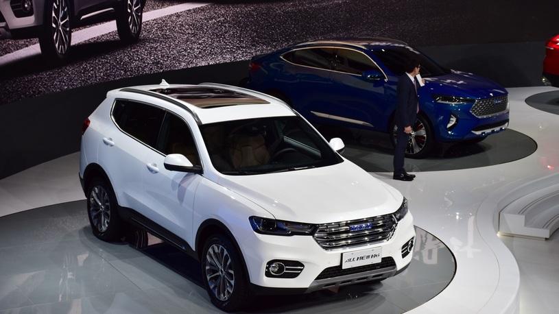 НаШанхайском автомобильном салоне  презентовали кроссовер Haval H6