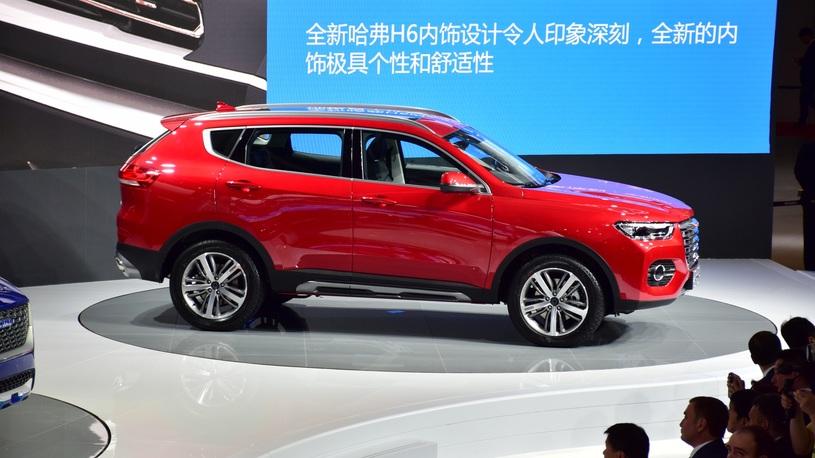 Шанхайский автосалон порадовал презентацией нового кроссовера Haval H6