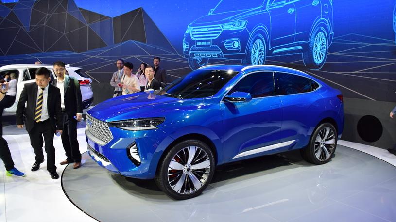 Кроссовер Haval HB-03 Phev Concept презентован наШанхайском автомобильном салоне