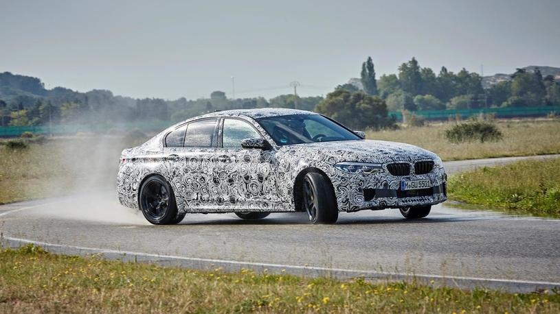 Новый BMW M5 позволит переключаться с заднего привода на полный