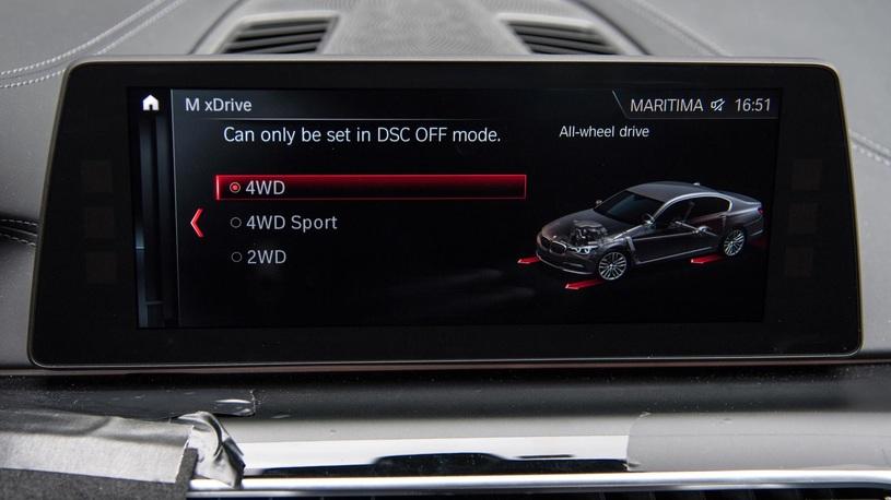 Новый седан БМВ М5 получит технологию Mxdrive