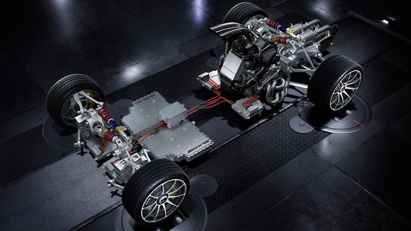 AMG презентует гиперкар с1,6-литровым агрегатом