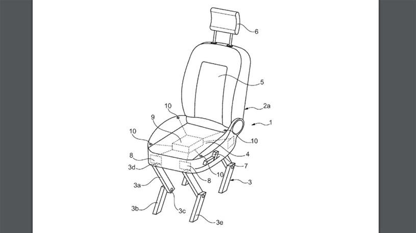 Ford придумал самоходное автомобильное кресло