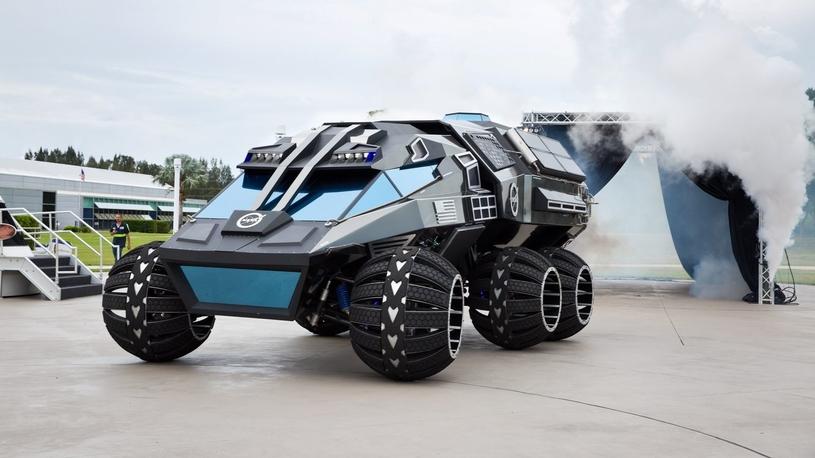NASA представила джип для Марса