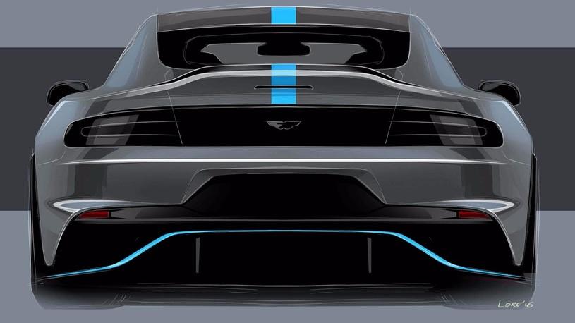 Астон Мартин назвал сроки появления электрического седана RapidE