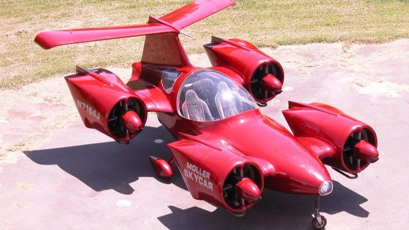 На аукцион выставлен первый в мире автомобиль с вертикальным взлетом