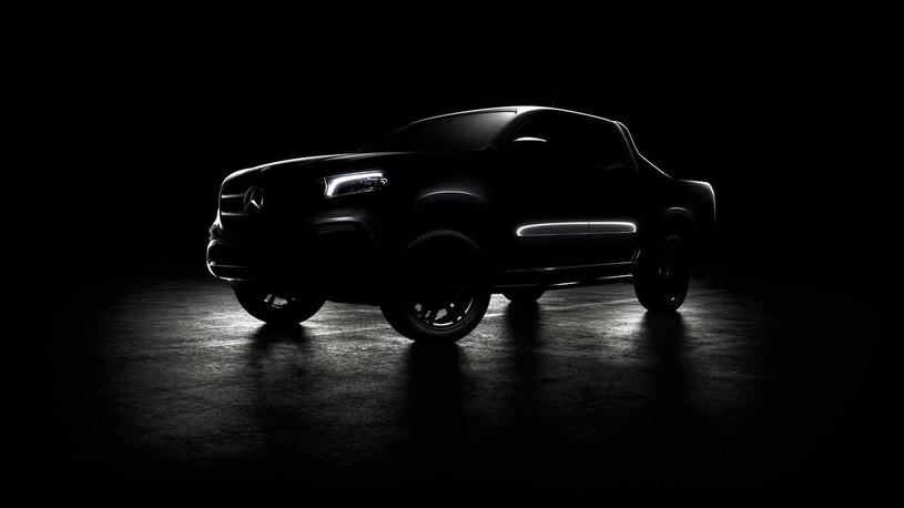 Mercedes-Benz готовится представить свой новейший пикап