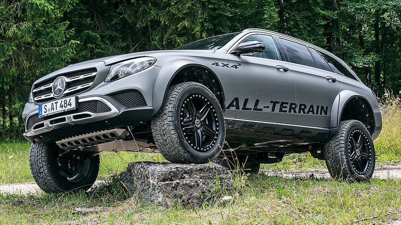 Инженеры Mercedes выпустили сумасшедший Е-Класс в стиле