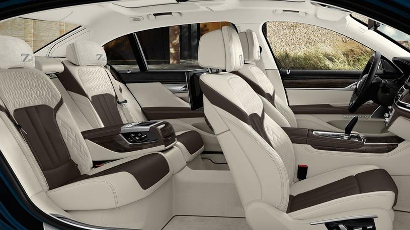 В BMW показали юбилейный седан BMW 7-Series Edition 40 Jahre