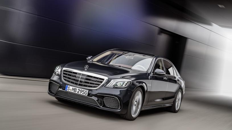 Стали известны цены улучшенного Мерседес Бенс S-Class V12