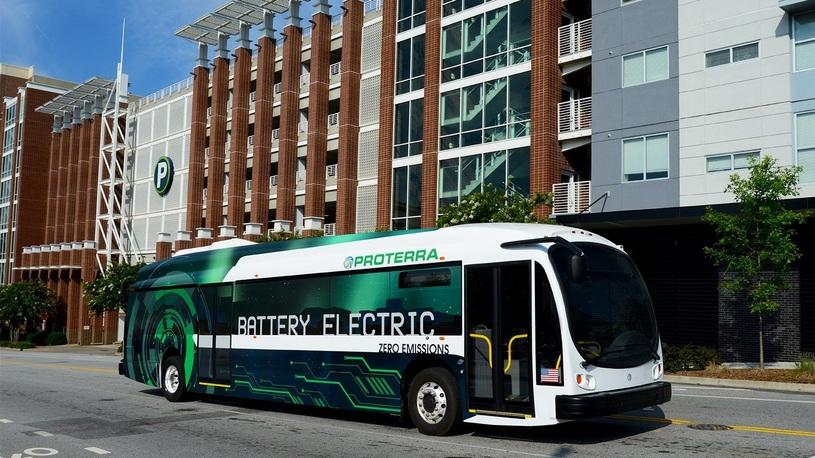Электрический автобус установил рекорд пробега на одной зарядке