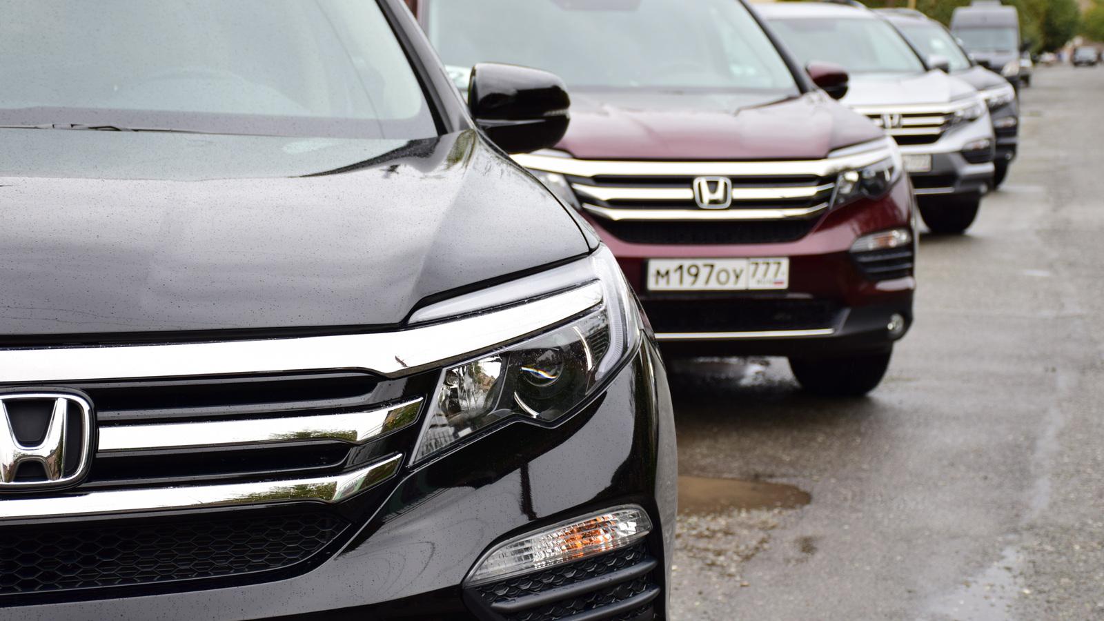 Тест-драйв нового Honda Pilot: первые впечатления