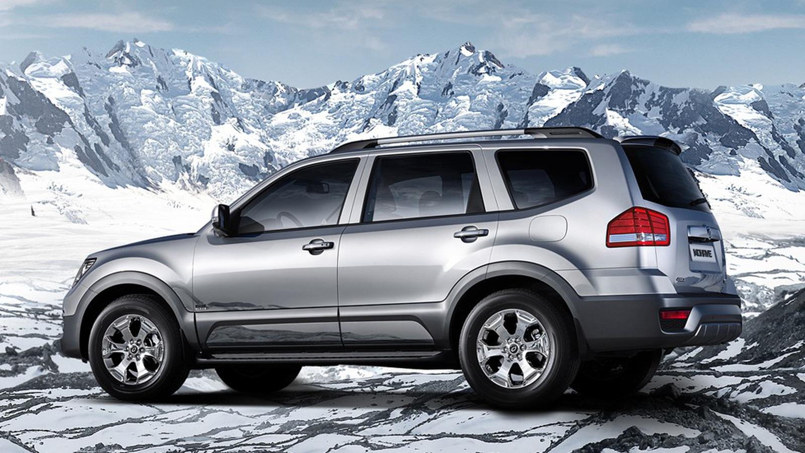 Улучшенный вседорожный автомобиль Киа Mohave появится в РФ весной
