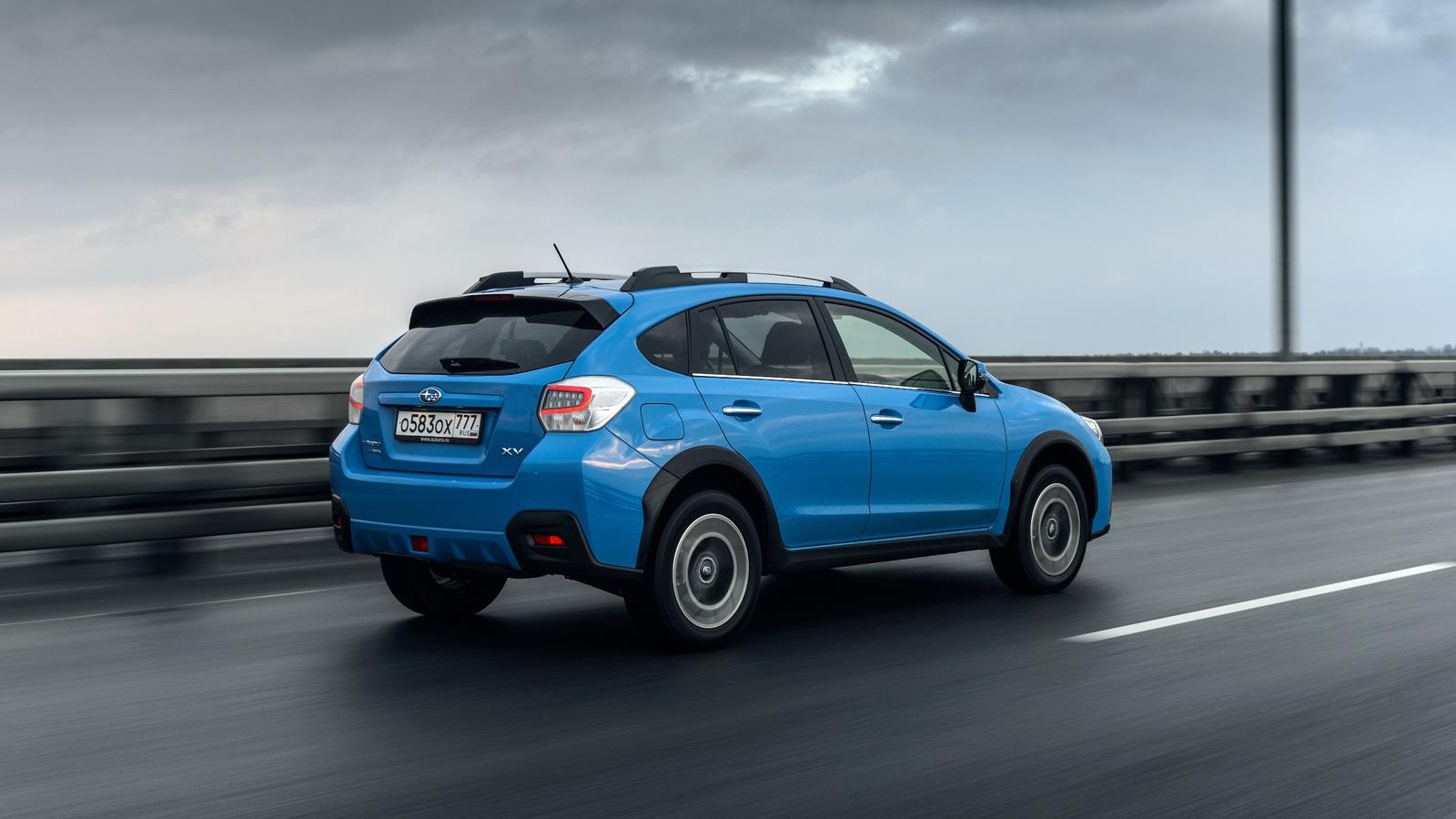 Тест-драйв обновленной Subaru XV: проверка бытом