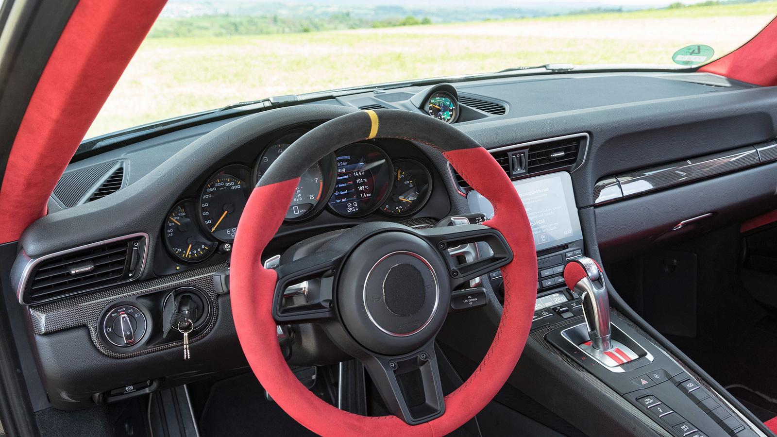 Порше 911 GT2 RS будет самой быстрой машиной всерии