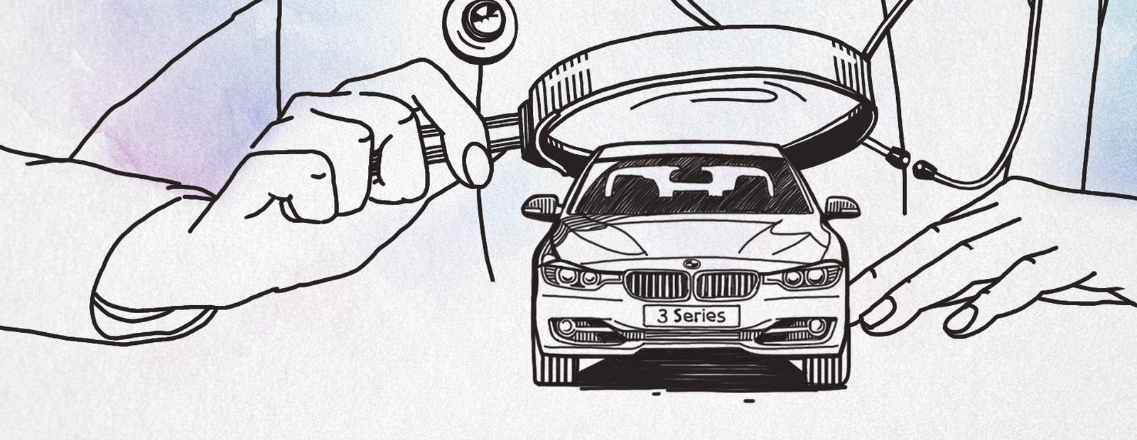 Кафедра детских болезней: BMW 3 серии